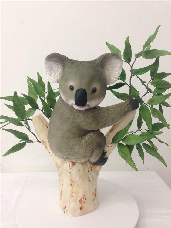 Koala Cake To Celebrate Australia Day 2014 By Handis
