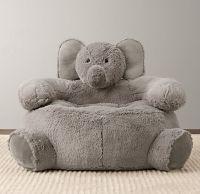 Cuddle Plush Elephant Chair   Nursery Accessories ...