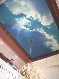 Image detail for -Clouds Ceiling | murals | Pinterest ...