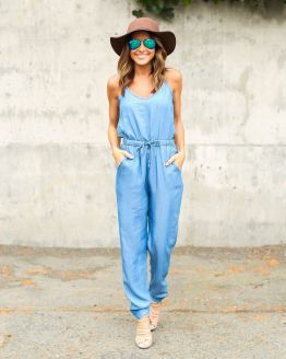 Mankind Chambray Jumpsuit: