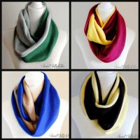 Hogwarts House Inspired Fleece Infinity Scarf Set of Four ...