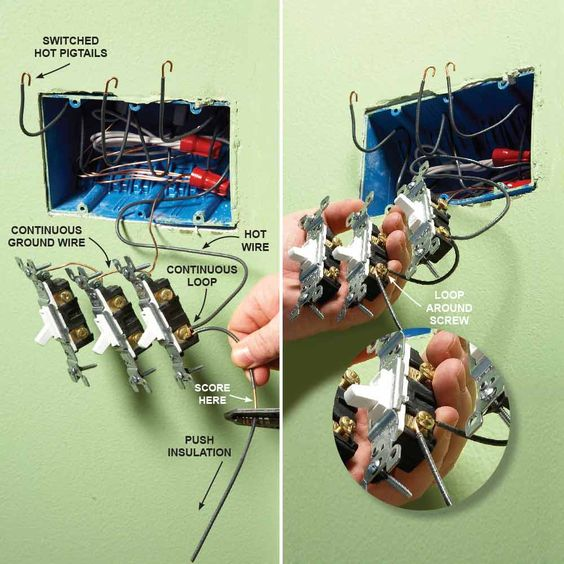 Switch Wiring Together With How To Wire A 3 Way Light Switch Diagram