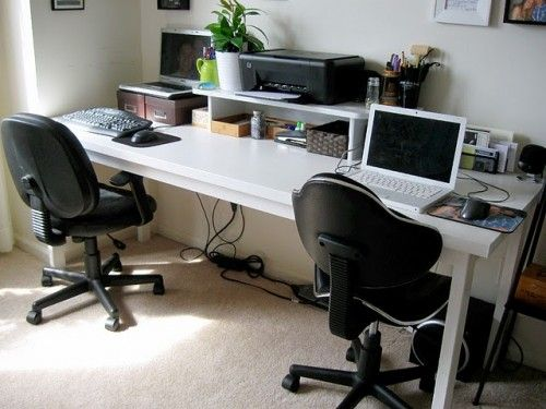 home office computer desks for two people home office desk for 2 people | space for two desks but