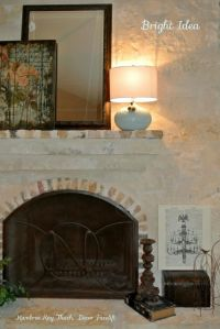 Mantels, Colors and Fireplaces on Pinterest