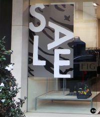 Retail SALE decal, SALE sticker, FIG Boutique, Shop Window ...