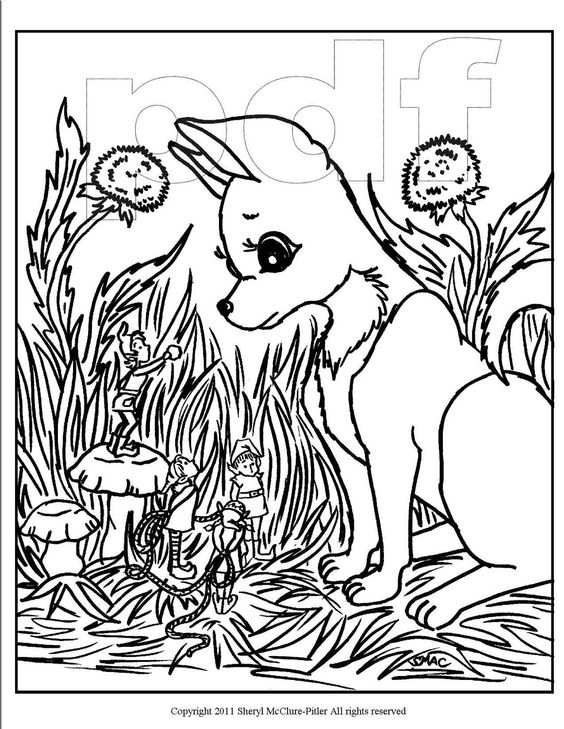 Pin Intricate Fairy Colouring Pages