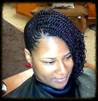 Kinky Twist Queen is a professional african-american ...