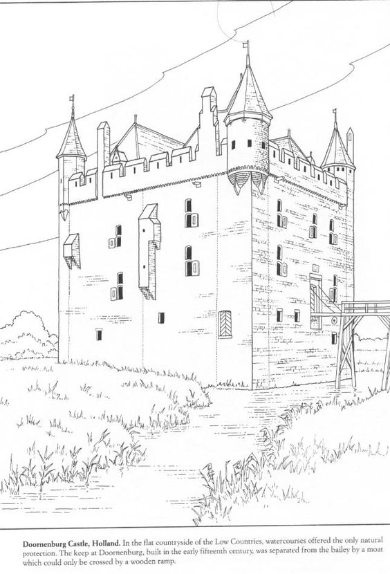 Printables, Medieval and Coloring on Pinterest