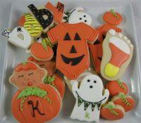 Halloween baby shower   Cookies   Pinterest   Halloween ...