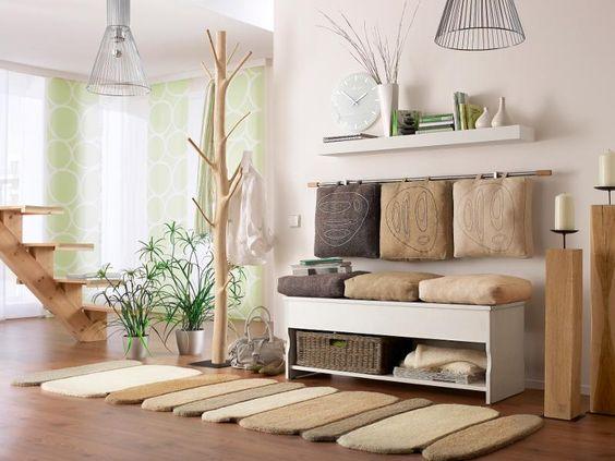 wohnideen wohnzimmer farben wandgestaltung kommode » terrassenholz, Mobel ideea