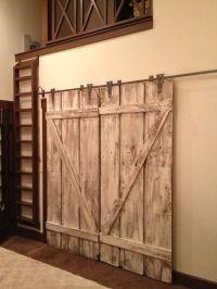 Barn Style Interior Doors | Love it: Interior Design ...