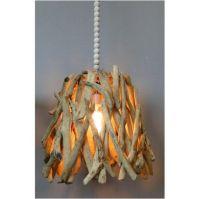 Driftwood Pendant Light Fixture Hand Made, Natural Wood ...