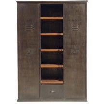 armoire de chambre metal