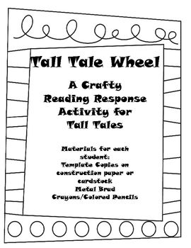 Tall tales, Wheels and Teacher pay teachers on Pinterest
