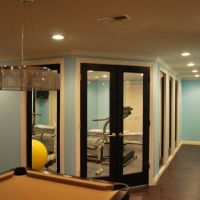 Basement designs, Window and Openness on Pinterest