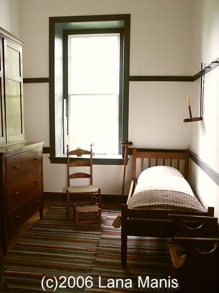 Shaker bedroom  ROOMS  Bed  Pinterest  Shaker style Style and Railings