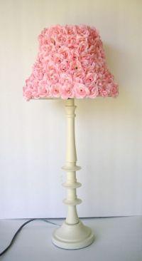 Chic Girls Pink Rosette Lamp shade | Girls, Lamp shades ...