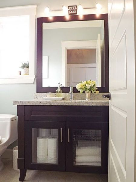 martha stewart bathroom paint color ideas Martha Stewart Rainwater paint color. | Home Decor | Pinterest | Bathroom inspiration, Vanities