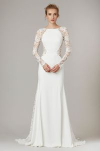 Silk wedding dresses, Lela rose and Lace sleeves on Pinterest