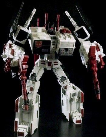 Metroplex Custom Transformers G1 Figure Custom Action
