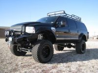 Ford, Ford excursion and Roof rack on Pinterest