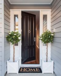 Welcome home to this classic Hamptons style front entrance ...
