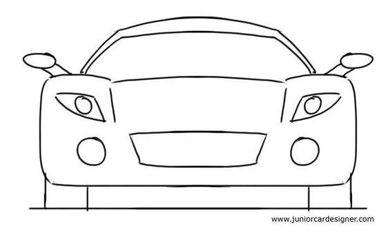 Very easy drawings for kids simple car drawing related