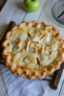 Bourbon Apple Pie for Pi Day! / Sprinkled with Jules: