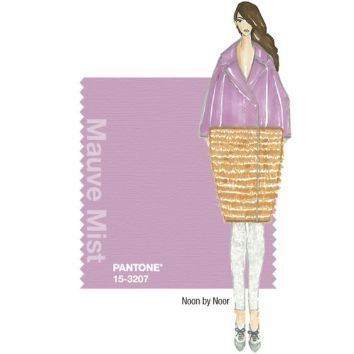 Pantone Fall 2014 Color Report Mauve Mist 15-3207