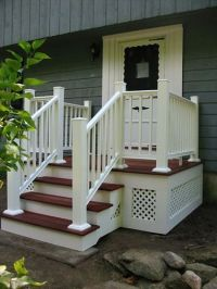 stone work stairs walkway exterior house - Google Search ...