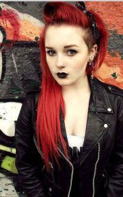 lipstick. earrings. sidecut. bows