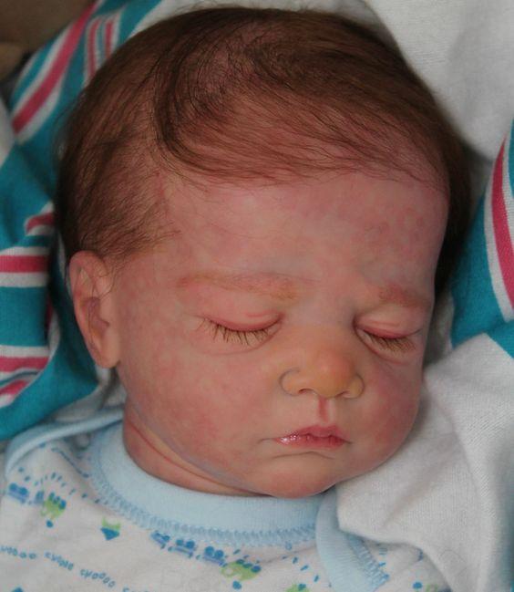 REBORN BABY CASPAR Christa Gotzen SOLD OUT Slumberland