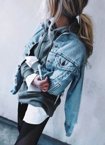 Layers are fashion hacks that make getting ready easy!