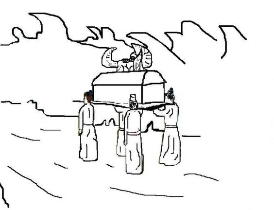Joshua Chapter 3:7-17 Crossing The Jordan River On Dry