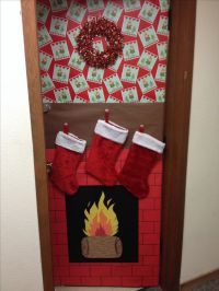 Christmas decorations, Dorm door and Dorm on Pinterest