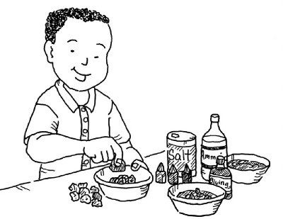 Rock Pile Coloring Pages