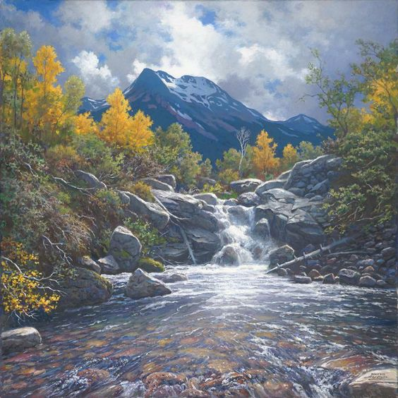 Larry Dyke Paintings and places Pinterest Art Back