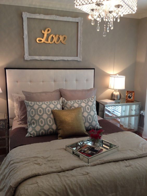 Too many different colors but I love the decor above the bed  Amber Hawkins  Home Decor