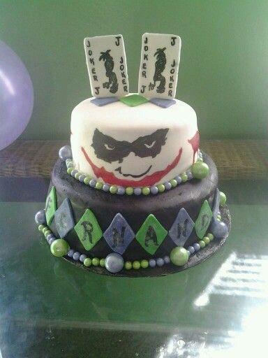 Cakes Joker Cake And Jokers On Pinterest