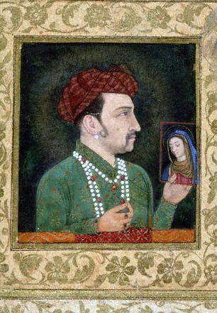 christian mughal art