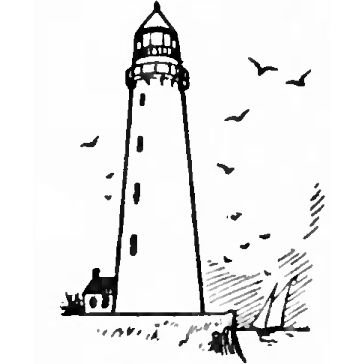 Drawing step, Easy drawings and Lighthouses on Pinterest