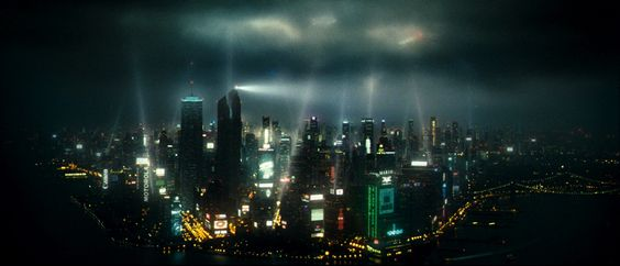 New York City in the future depicted in Babylon A.D.