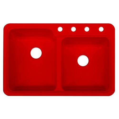 Basin Acrylic More Acrylics Sinks Kitchen Red Kitchens