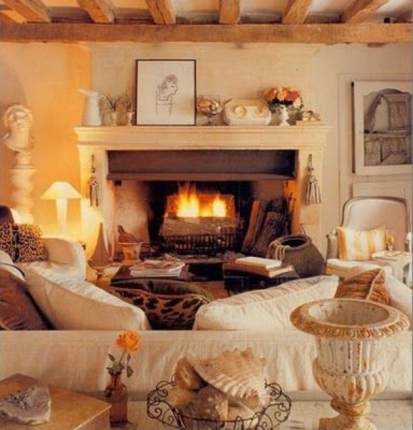 Image result for cosy autumn living room