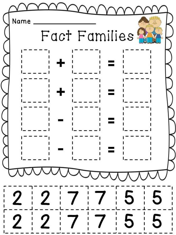 Cut and paste, Multiplication and division and Fact