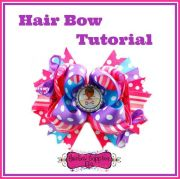 bow tutorial hair and videos