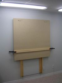 Wall mount, Easels and Corks on Pinterest