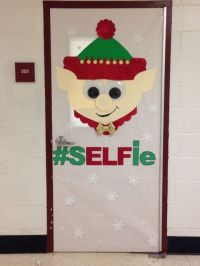 Elf Christmas door decorating contest! | Christmas Fun ...