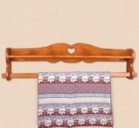 Wall mounted quilt rack and shelf | Quilting Rack Plans at ...