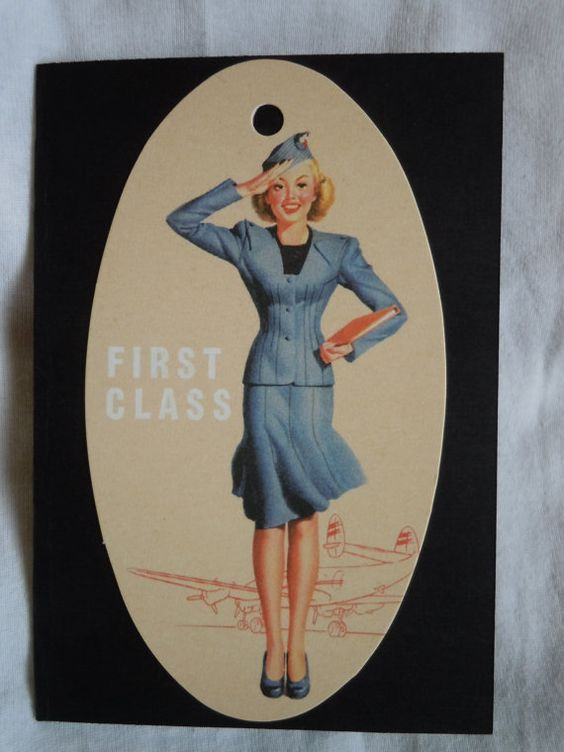 Fabulous Flight Attendant Passport Cover 1  My mom